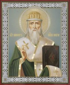 Святитель Нифонт, епископ Новгородский